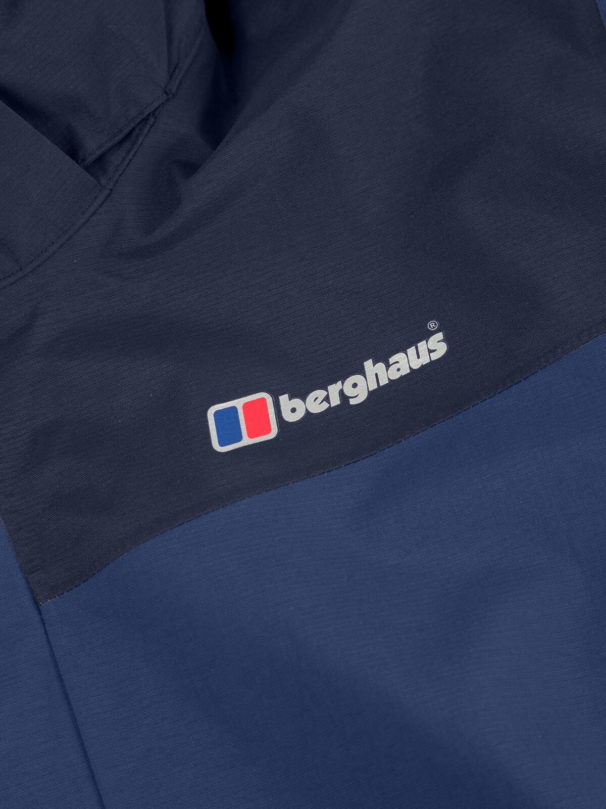 Berghaus Hillwalker InterActive Shell Jas Heren, deep waterdusk